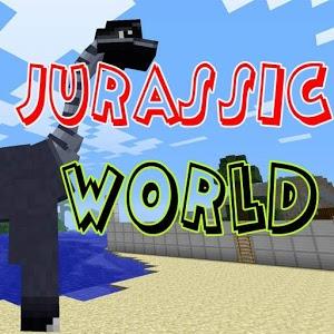 Jurassic World Map For MCPE