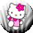 Hello Kitty Zebra Theme