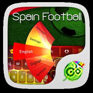 Football Spain Keyboard Theme