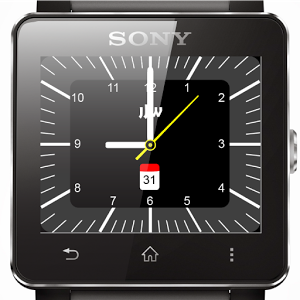 JJW Watchface 01 for Sony SW2