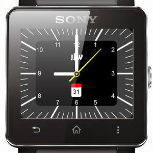 JJW Watchface 01 for Sony SW2