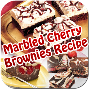 Marbled Cherry Brownies Recipe