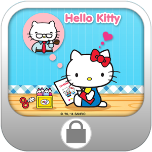 Hello Kitty for Dad ScreenLock keyboard rocket screenlock