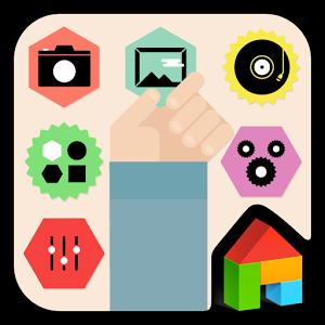 Colorful Sticker dodol theme