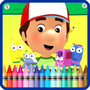 Handy Manny Coloring For Kids