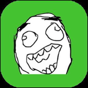 Crazy Meme -Emoji,Rage,Sticker rage sticker time