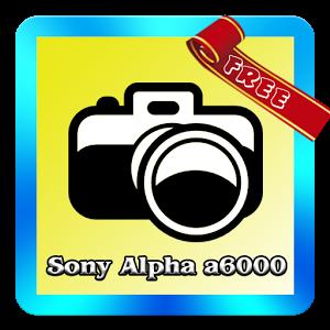 Alpha a6000 Tutorial