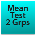 Two Groups Mean Test