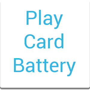 Play Card Battery UCCW Widget battery guide play