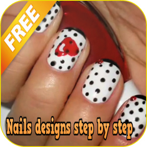 Nails designs step by step step