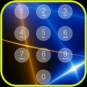 Retina Keypad Lockscreen numeric keypad