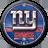 New York Giants Clock Widget 2