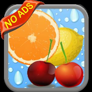 Juicy Two Fruit Match No Ads fruit match