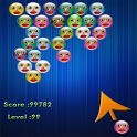 Funny Face Bubble Shooter