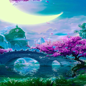 Fantasy Moon Land LWP