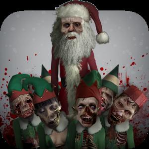 Zombie Santa santa shock zombie