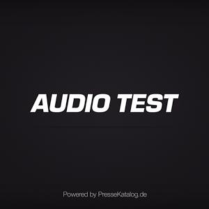 AUDIO TEST - epaper