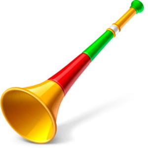 Virtual Vuvuzela Horns