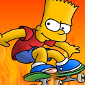 Bart Simpson Skateboarding bart simpson doing lisa