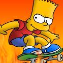 Bart Simpson Skateboarding bart simpson doing lisa