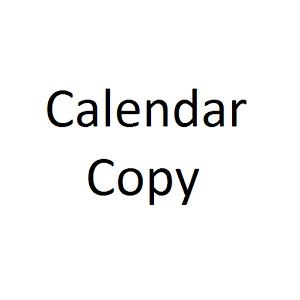 CalendarCopy App