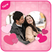 Romantic Love Photo Frame