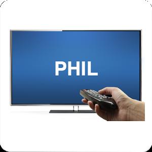Universal Phil Remote TV