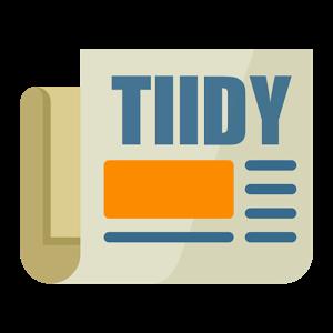 Tiidy News: Smart News Reader
