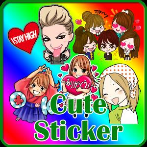 Stickers Happy Line happy sticker stickers