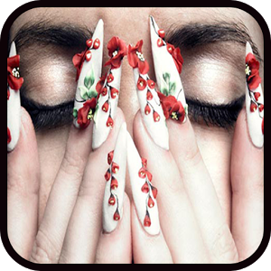 Nail Art Design Step by Step qibla step