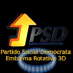 Partido Social Democrata em 3D