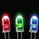 Flashlight LED Light color flashlight light