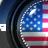 USA alarm clock widget