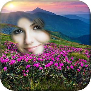Mountain Flower Photo Frame