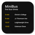 miniBus - Live bus data data live wallpaper