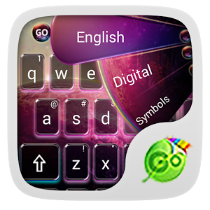 GO Keyboard Color Galaxy Theme