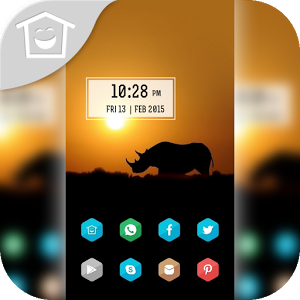 Lonely walk rhino theme