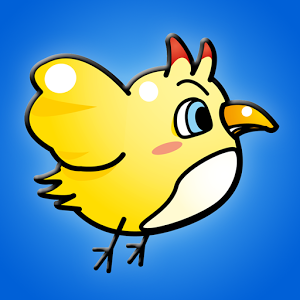 Jumping chick