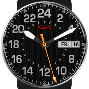 The Pilot 24 HD Wear Face