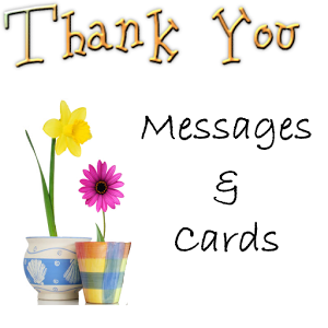 Thank You Messages and Cards