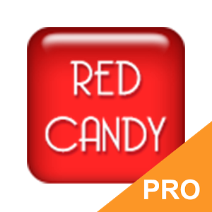 GO Keyboard Red Candy PRO