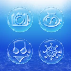 Bubble Bubble Atom Iconpack bubble combat