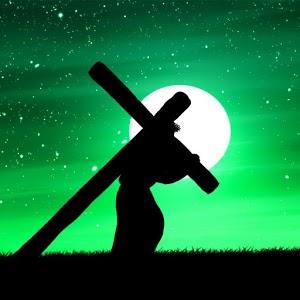 Jesus Carry Cross jesus on cross stereogram