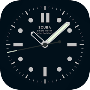 Scuba Diver Watchface