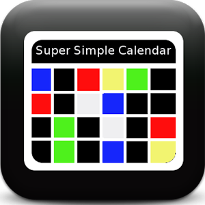 Super Simple Calendar