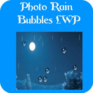 Photo Rain Bubbles LWP