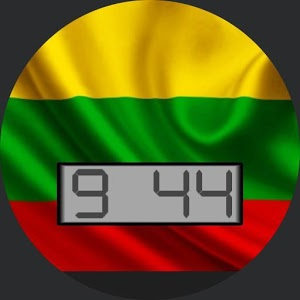 Lithuania Flag for WatchMaker