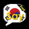 Say Korean Free(Learn&Speak)