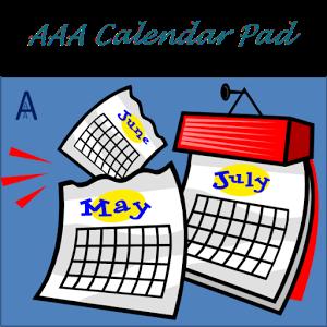 AAA Calendar Pad Pro