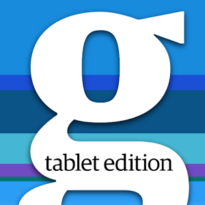 The Guardian tablet edition